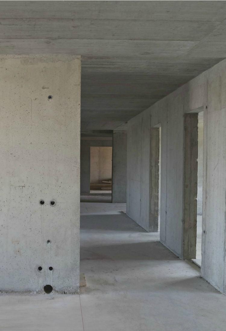 Monolit vasbeton szerkezetépítés