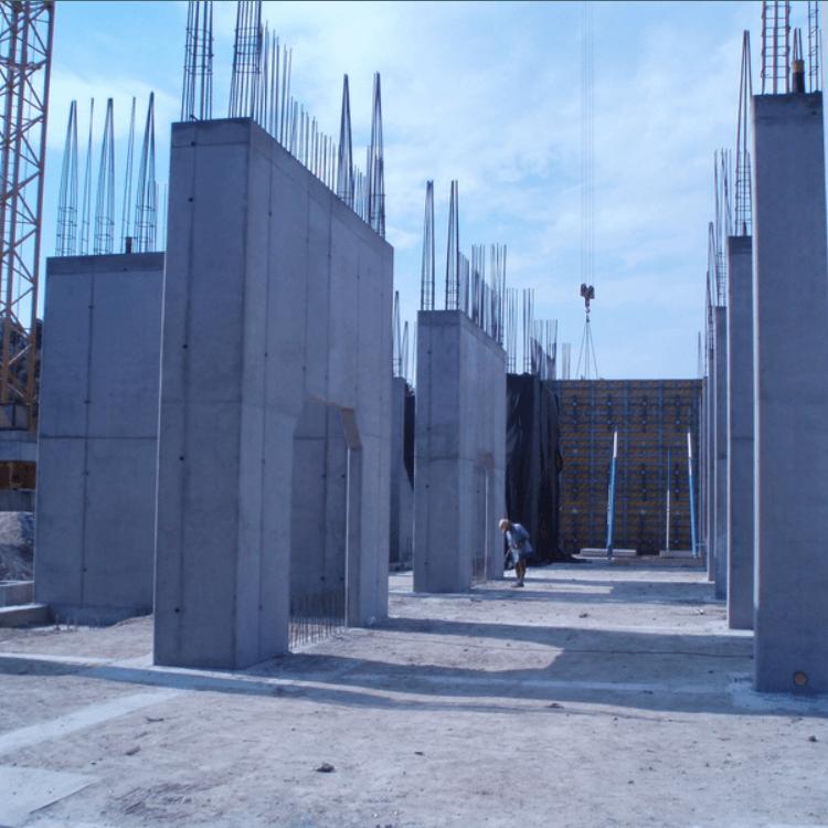 Szerkezetépítés ETO nyugati lelátó