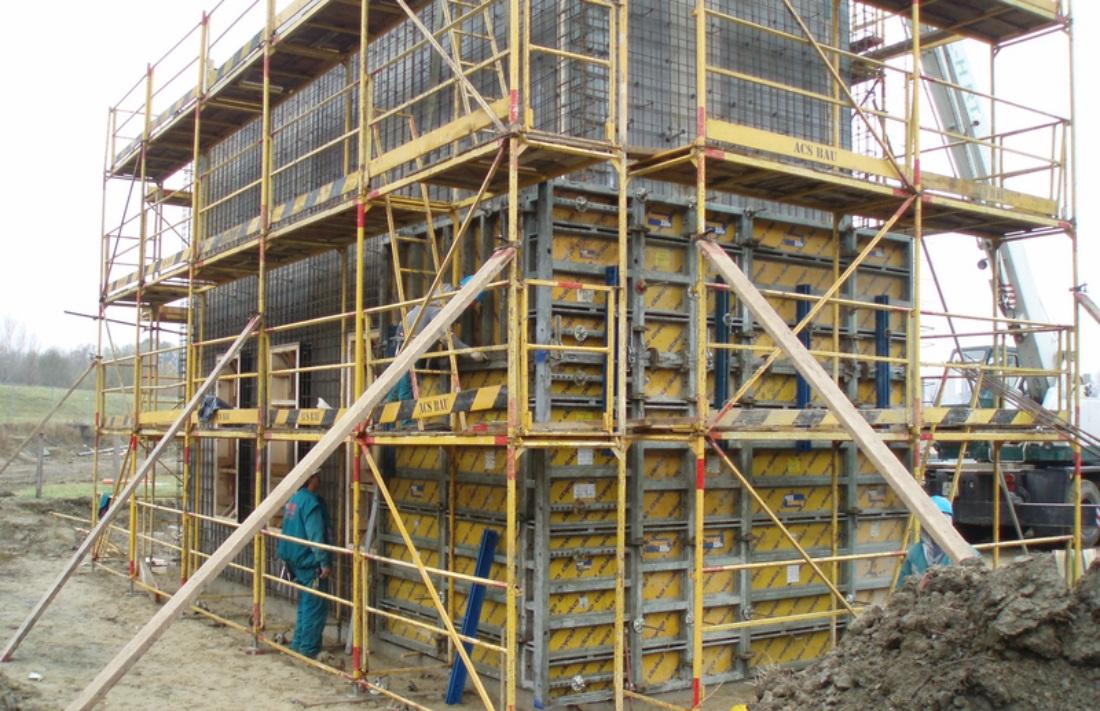 Dunacenter Bevásárlóközpont szerkezetépítés, Győr
