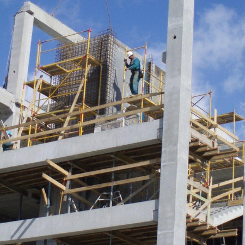 ETO Szabadidőpark monolit vasbeton építés
